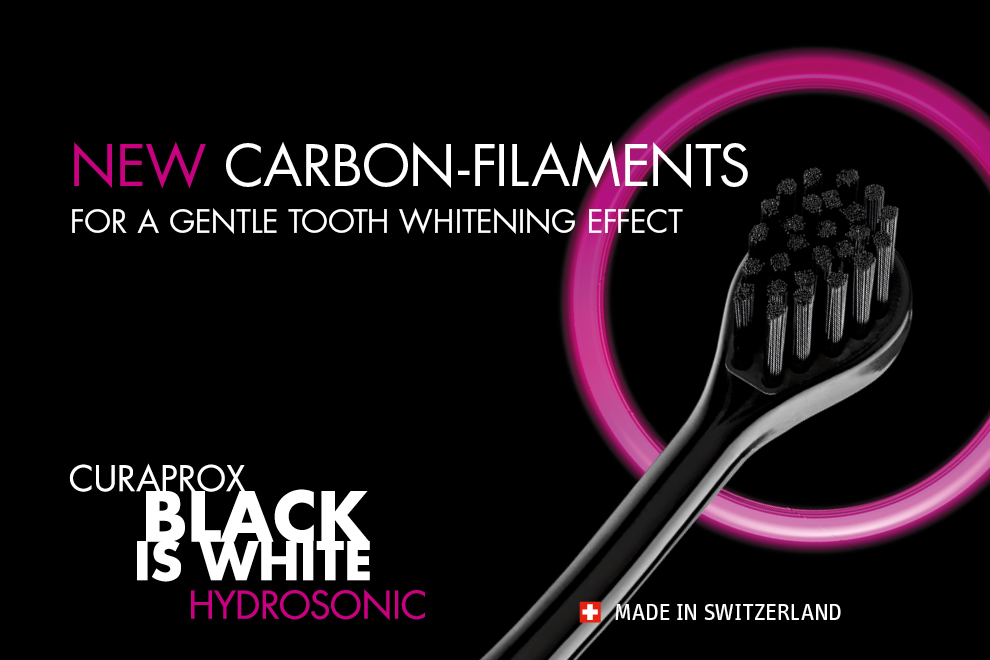 Curaprox Hydrosonic Blaci is White fogkefe